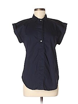 J. Crew Short Sleeve Button-Down Shirt Size 4