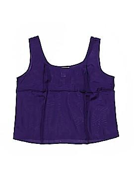 Danskin Now Sleeveless Silk Top Size 14 (Petite)