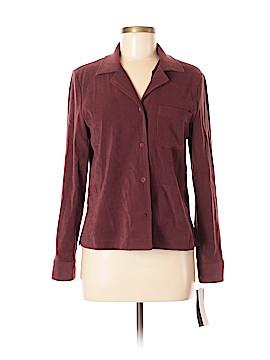Harve Benard by Benard Holtzman Long Sleeve Button-Down Shirt Size 8