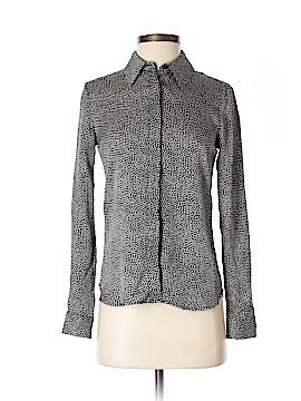 Kelly Wearstler Long Sleeve Silk Top Size 0