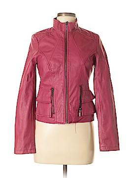 Yoki Faux Leather Jacket Size M