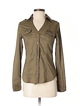 Ali & Kris Long Sleeve Button-Down Shirt Size S
