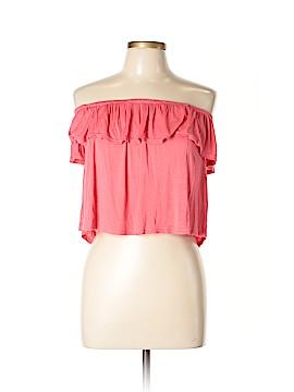 Splash Short Sleeve Top Size L