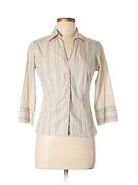 Thomas Pink 3/4 Sleeve Button-Down Shirt Size 8