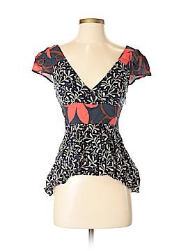 Vanessa Virginia Short Sleeve Top Size 0