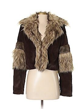 RACHEL Rachel Roy Faux Fur Jacket Size S