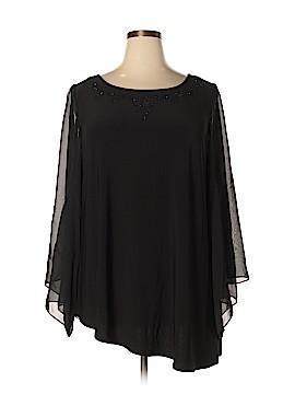 MSK Long Sleeve Top Size 2X (Plus)