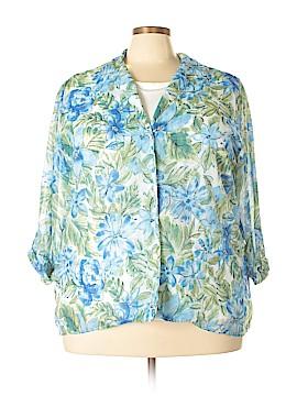 Cathy Daniels 3/4 Sleeve Blouse Size 2X (Plus)