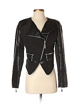 Cache Faux Leather Jacket Size S
