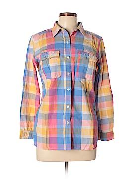 I Heart Ronson Long Sleeve Button-Down Shirt Size M
