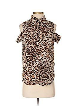 WAYF Short Sleeve Button-Down Shirt Size XS