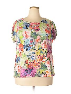 Lands' End Short Sleeve T-Shirt Size 20 - 22 (2X) (Plus)