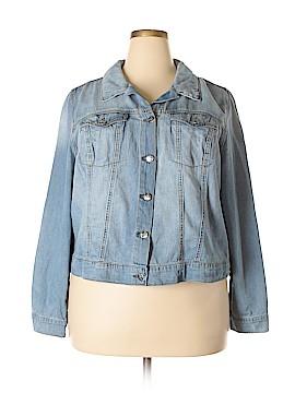 Jessica Simpson Denim Jacket Size 2X (Plus)
