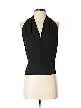 Tamara Mellon Sleeveless Silk Top Size 4