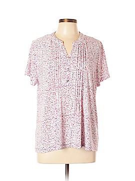 Croft & Barrow Short Sleeve Blouse Size XL (Petite)