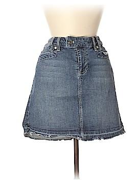 White House Black Market Denim Skirt Size 8