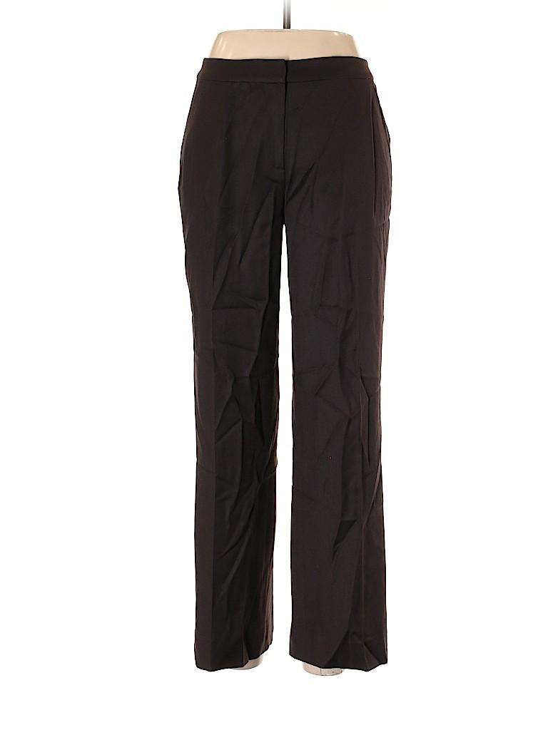 St. John Collection Women Wool Pants Size 8