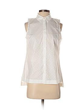 Ann Taylor Factory Sleeveless Button-Down Shirt Size XS