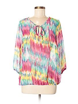 Allison Brittney 3/4 Sleeve Blouse Size M