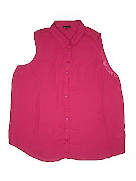 Willi Smith Short Sleeve Blouse Size 3X (Plus)