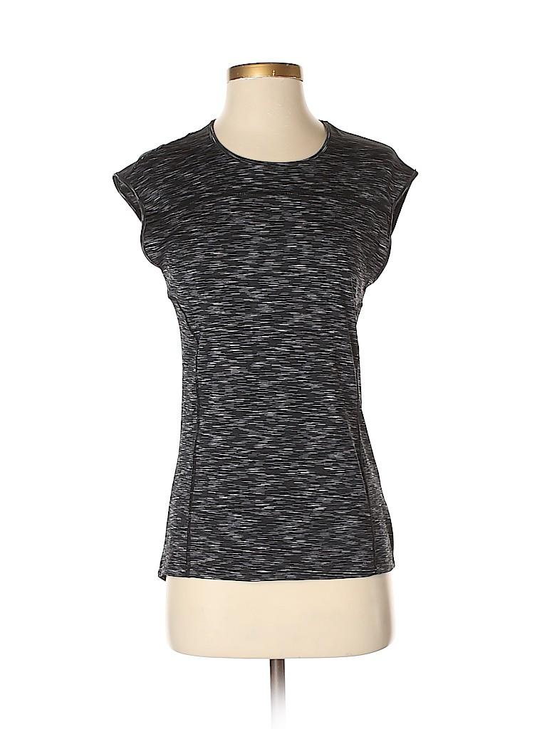 Nicole Miller Women Active T-Shirt Size XS