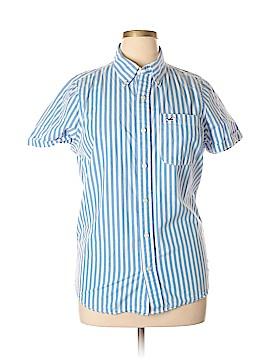 Hollister Short Sleeve Button-Down Shirt Size XL