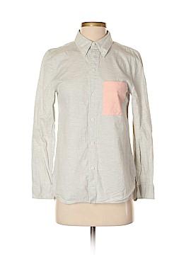 Kate Spade Saturday Long Sleeve Button-Down Shirt Size 2