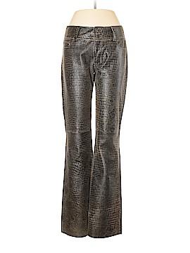 London Jean Leather Pants Size 8