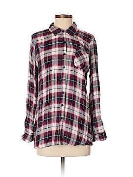 Jack. Long Sleeve Button-Down Shirt Size M