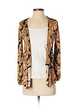 Nieves Lavi Silk Cardigan Size S