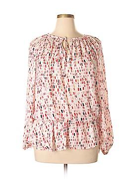 Ellen Tracy Long Sleeve Blouse Size 1X (Plus)