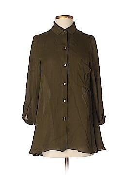 MYNE Ashley Ann 3/4 Sleeve Silk Top Size 2