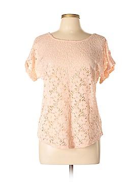 Solitaire Short Sleeve Blouse Size L
