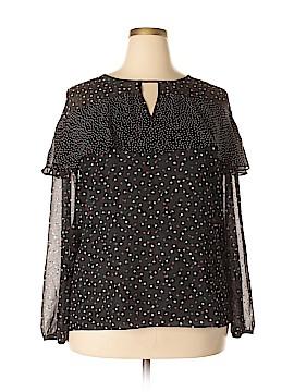 LC Lauren Conrad Long Sleeve Blouse Size XXL
