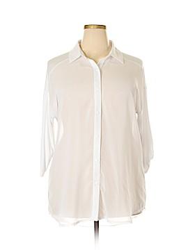 Lynn Ritchie 3/4 Sleeve Blouse Size XL