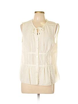 Sigrid Olsen Sleeveless Silk Top Size XL