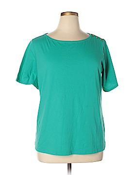 Bay Studio Short Sleeve T-Shirt Size 1X (Plus)