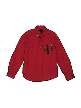 Nukutavake Long Sleeve Button-Down Shirt Size 8
