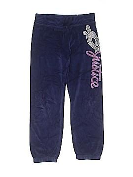 Justice Velour Pants Size 7
