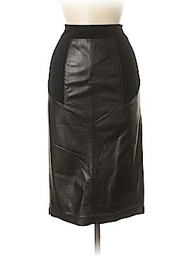 Diane von Furstenberg Leather Skirt Size 6