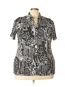 Avenue Short Sleeve Blouse Size 18 - 20 Plus (Plus)