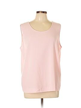 Draper's & Damon's Sleeveless Blouse Size XL