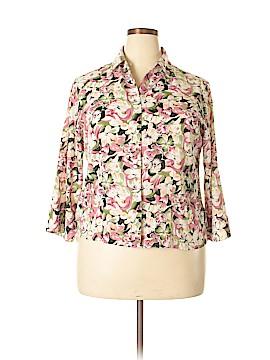 Jaipur 3/4 Sleeve Blouse Size XL
