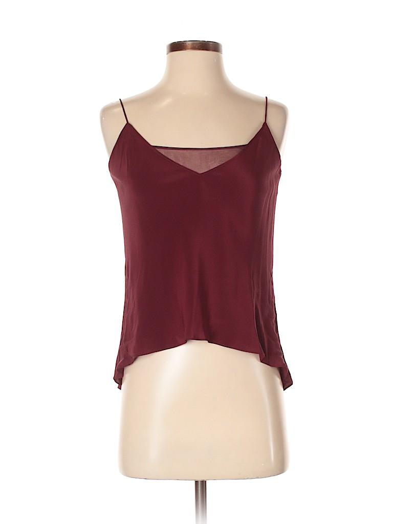 Jay Godfrey Women Sleeveless Silk Top Size 2