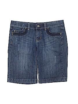 White House Black Market Denim Shorts Size 6