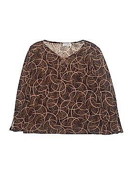 Carol Rose 3/4 Sleeve Top Size XL