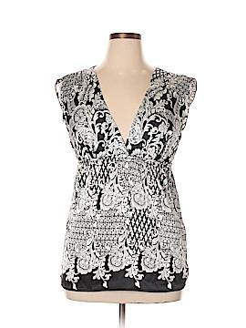 B-Design Short Sleeve Blouse Size L