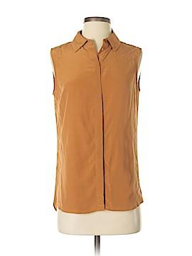 Grana Sleeveless Silk Top Size S