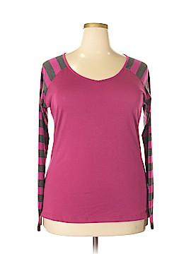 Allegra K Long Sleeve T-Shirt Size XL