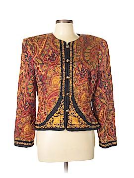 Brooks Brothers Silk Blazer Size 14